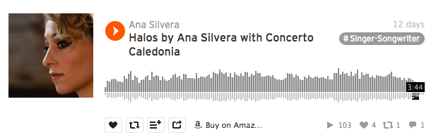 Halos by Ana Silvera with Concerto Caledonia